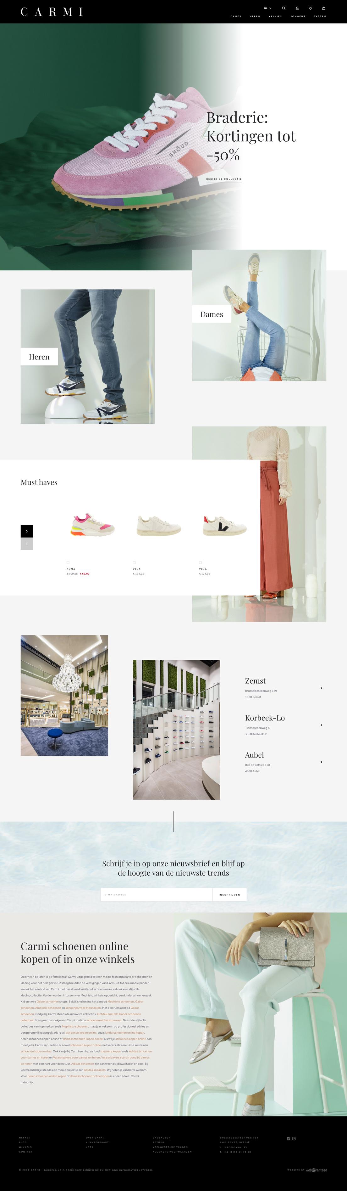 Showcase Webatvantage - Project Bobo - Website
