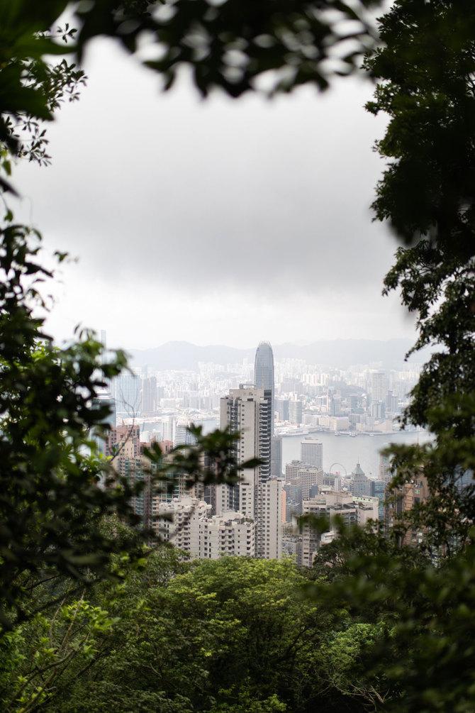 Prachtige uitzicht vanuit The Peak