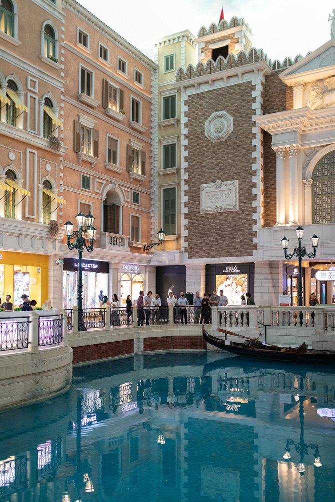 Macau Venetian Shopping hall