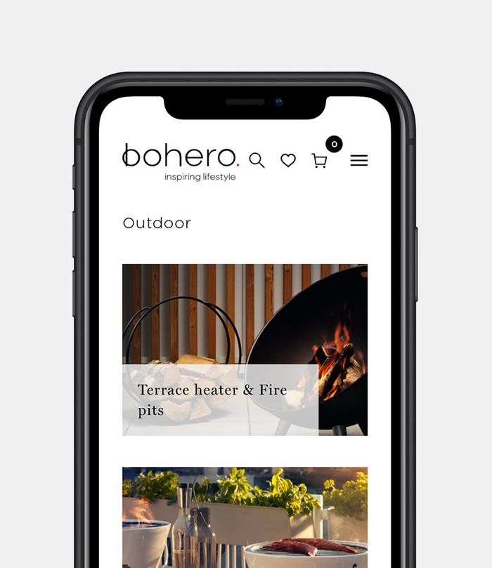Bohero mobiel outdoor