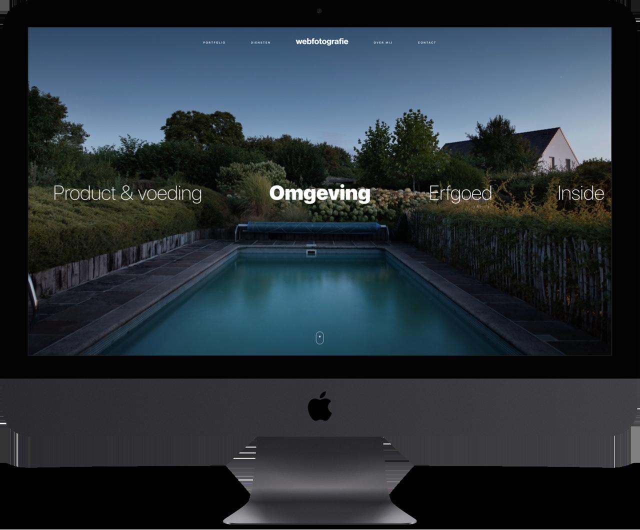 Webfotografie - iMac