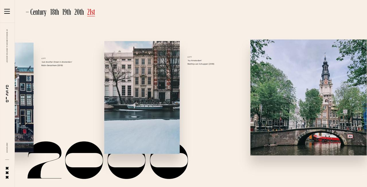 Design trend #3 -  Horizontaal scrollen