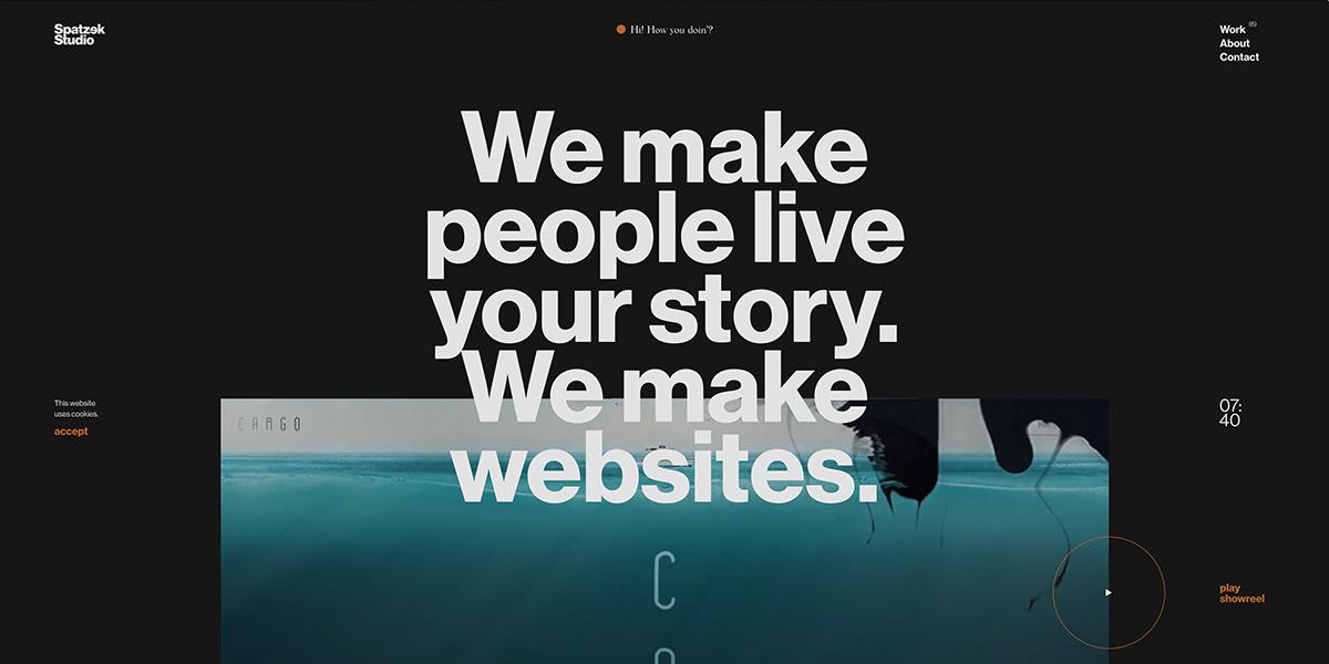 Spatzek Studio Homepage