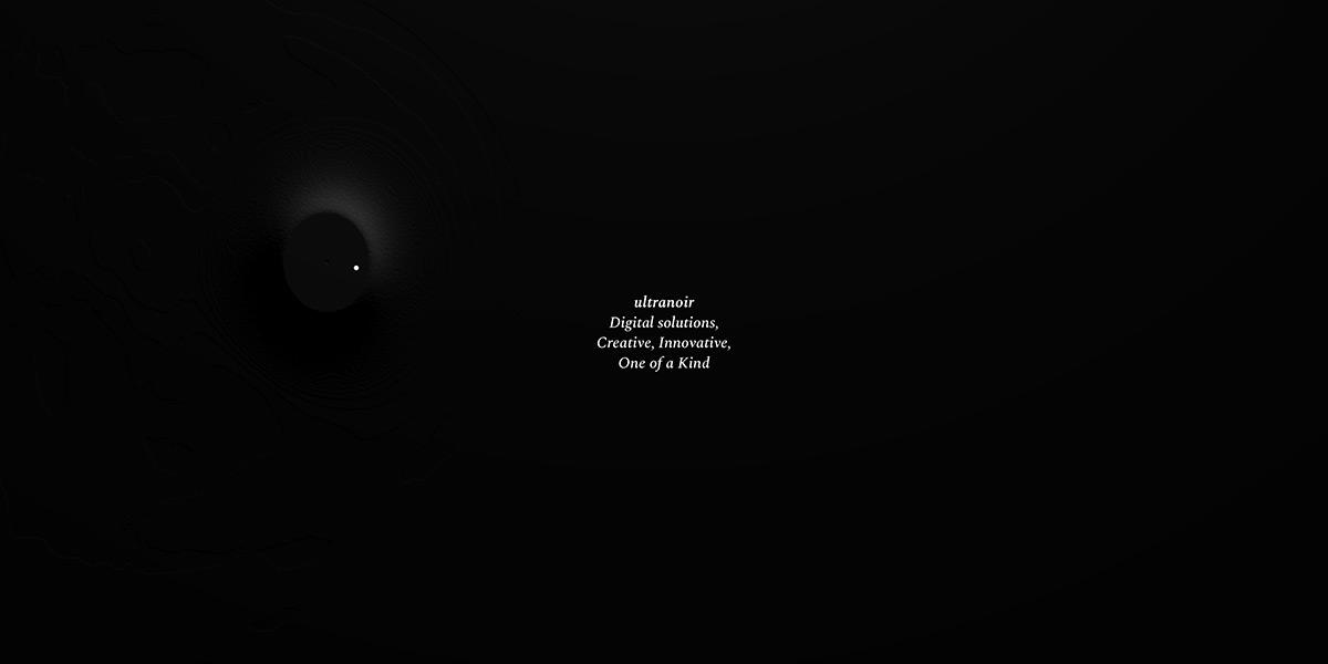 Ultranoir Homepage